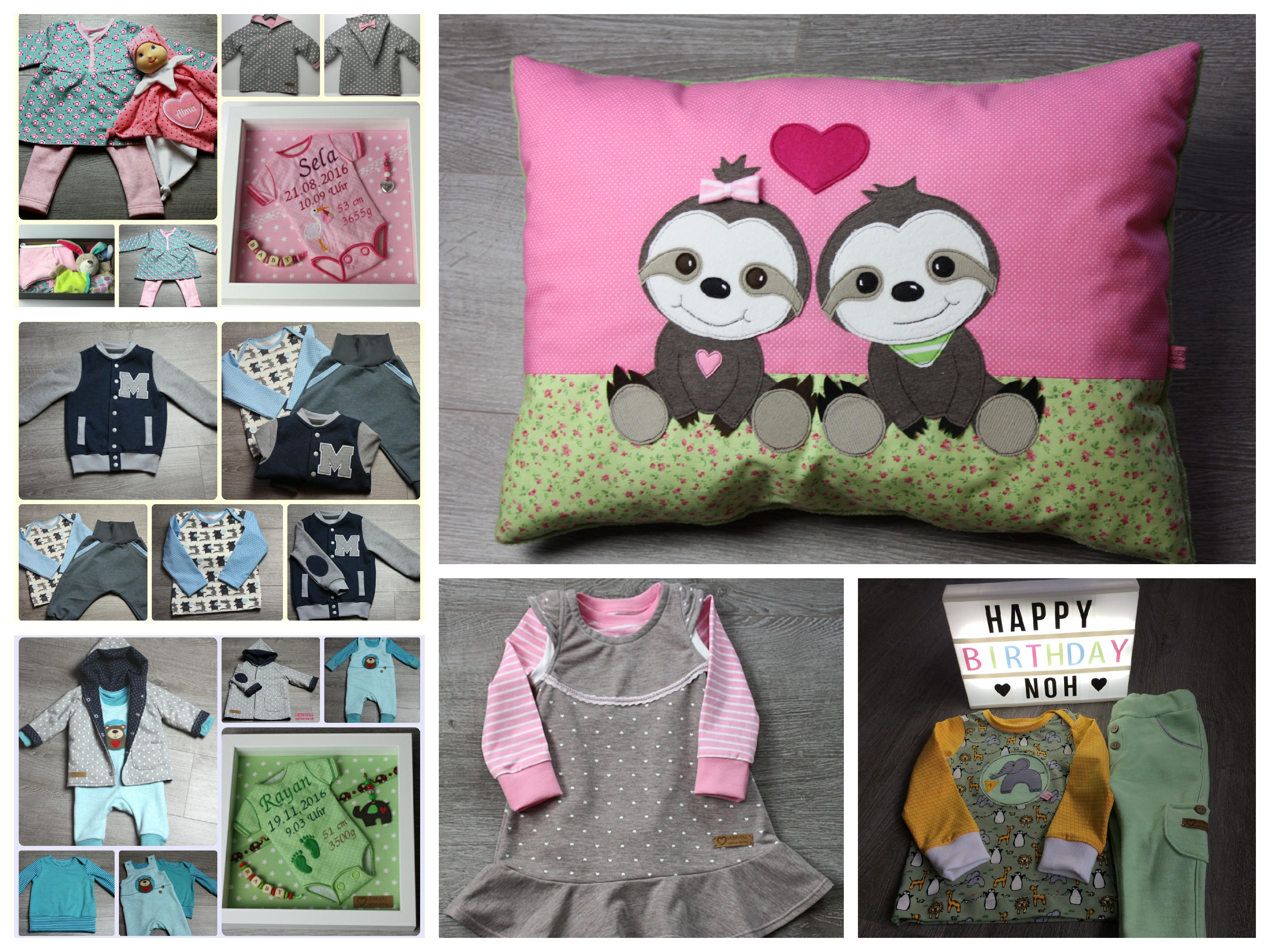 Collage_FotorNähen Babys